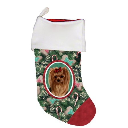 Yorkie Show Cut -  Best of Breed Dog Breed Christmas Stocking