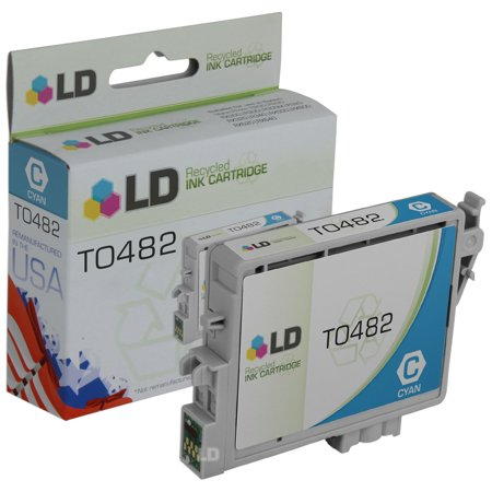 LD Remanufactured Replacement for Epson T048220 (T0482) Cyan Inkjet Cartridge for use in Epson Stylus Photo R200, R220,
