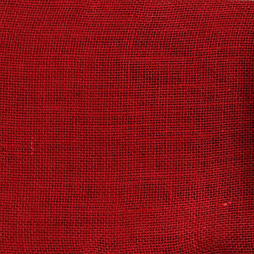 "Springs Creative Creative Cuts Burlap, 44"", 2-Yard Bolt, Solid Red"