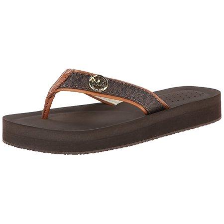 ddaffb254 MICHAEL Michael Kors - MICHAEL Michael Kors Womens Gage Flip Flop Open Toe  Casual - Walmart.com
