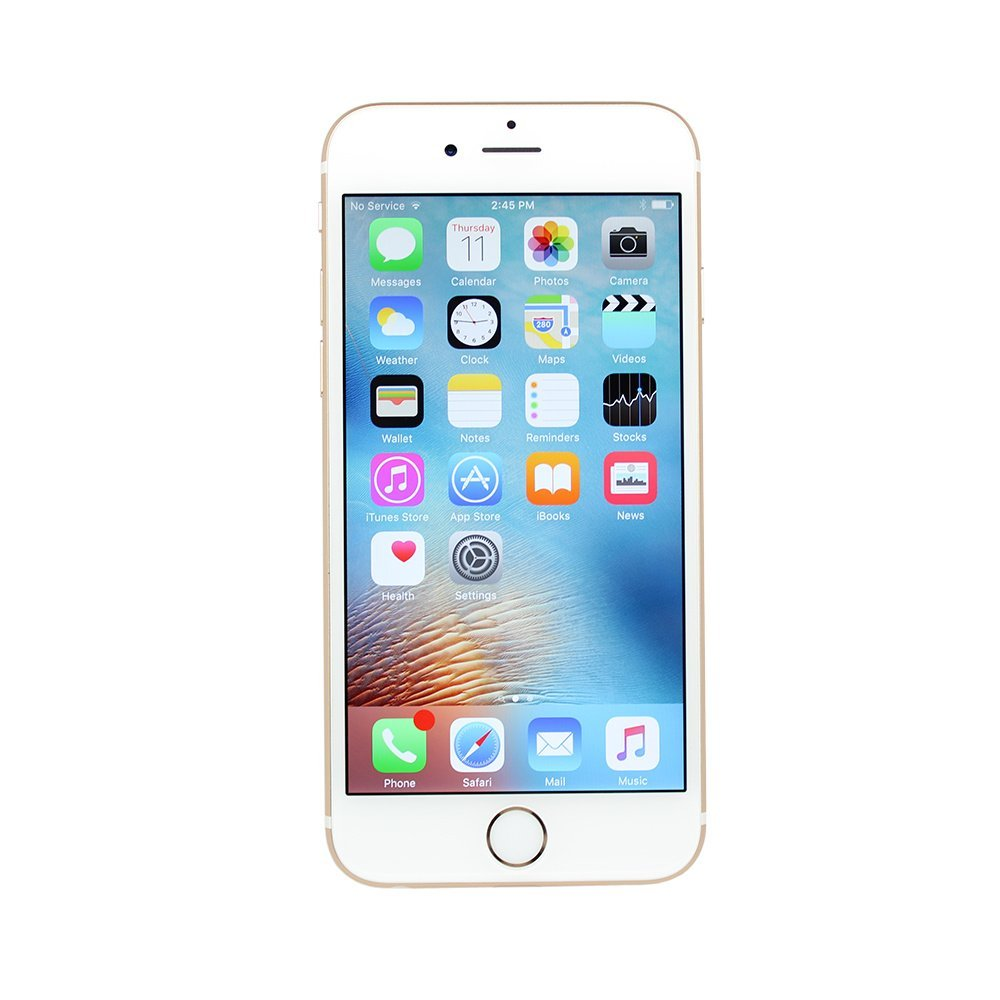 AT&T Apple iPhone 6s 16GB Refurbished Smartphone, Gold