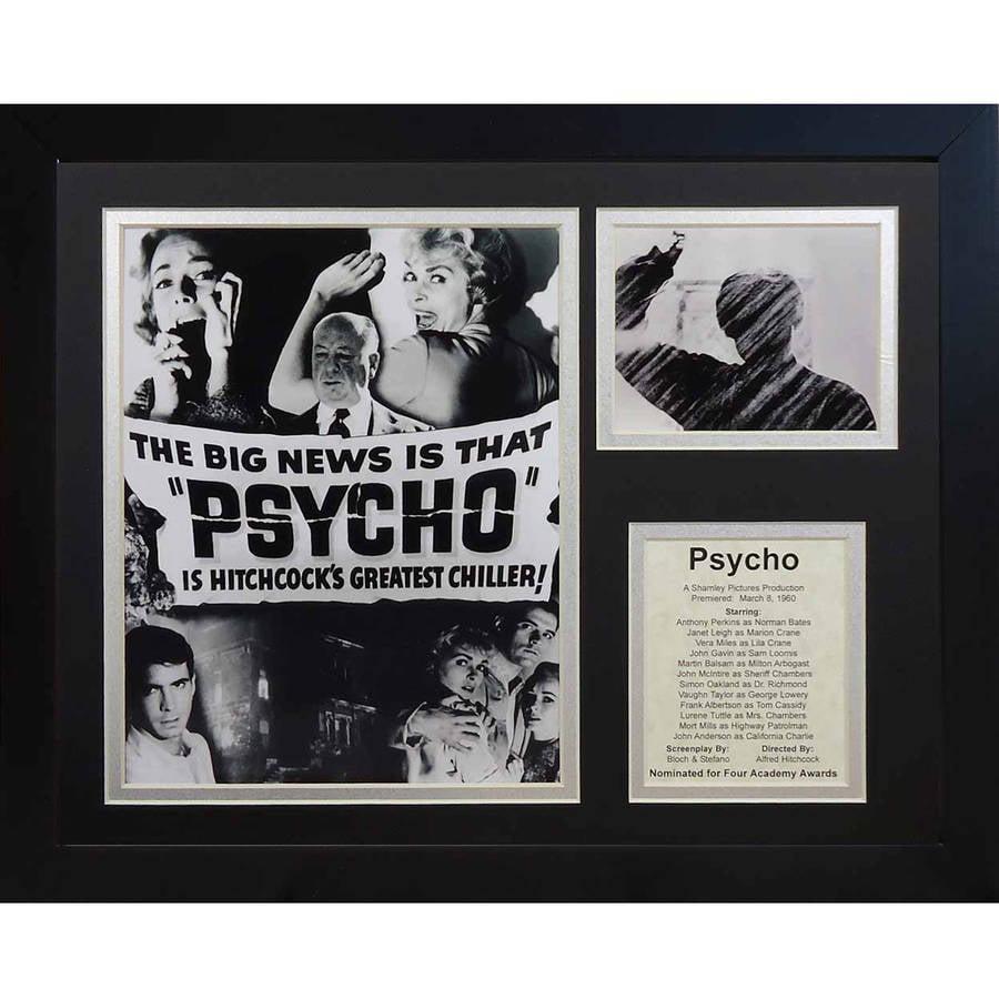 "Legends Never Die ""Psycho"" Framed Photo Collage, 11"" x 14"""