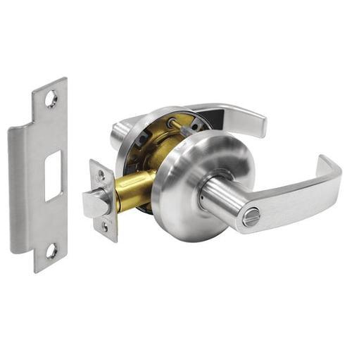 SARGENT 28-65U65 KL 26D Door Lever Lockset,Right Angle,Privacy