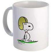 CafePress Snoopy Football Mug Unique Coffee Mug, Coffee Cup CafePress by
