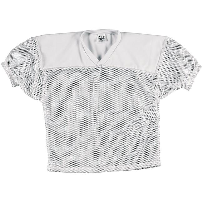 Intensity N3210100XSM Markwort Adult Mesh Practice Football Jersey, White - Extra Small