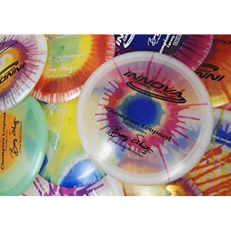 Champion I-dyed Leopard Disc Golf Disc (Assorted Colors) (One Disc), Speed: 6 Glide: 5 Turn: -2 Fade: 1 By Innova