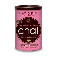 David Rio Flamingo Vanilla Decaf Sugar-Free Chai, Powdered Tea, 11.9 Oz