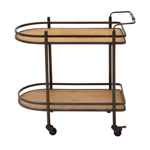 EC World Imports Mobile Bar Cart by EC World Imports