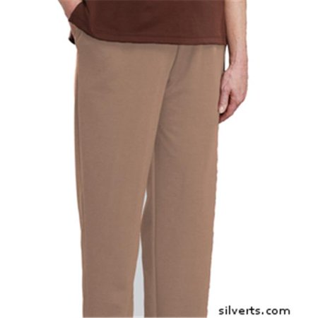 Silverts 231110702 Womens Adaptive Wheelchair Users Pant - Disabled Clothes - 3Xl, Taupe