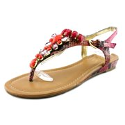 Fuerto 1 Women Open Toe Synthetic Pink Thong Sandal