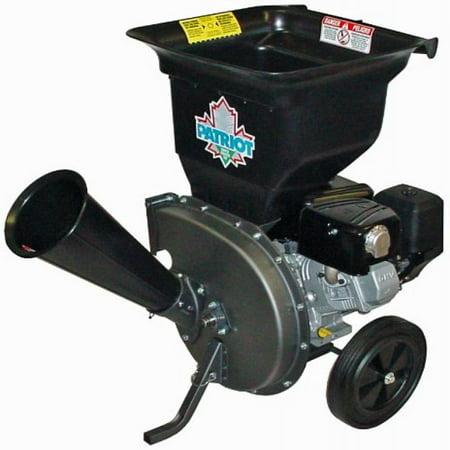 Patriot Products CSV-3100B 10 HP Briggs & Stratton Gas-Powered Wood Chipper/Leaf Shredder