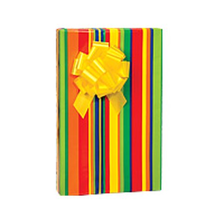 Stripes Galore Birthday / Special Occasion Gift Wrap Wrapping - Special Occasion Gifts