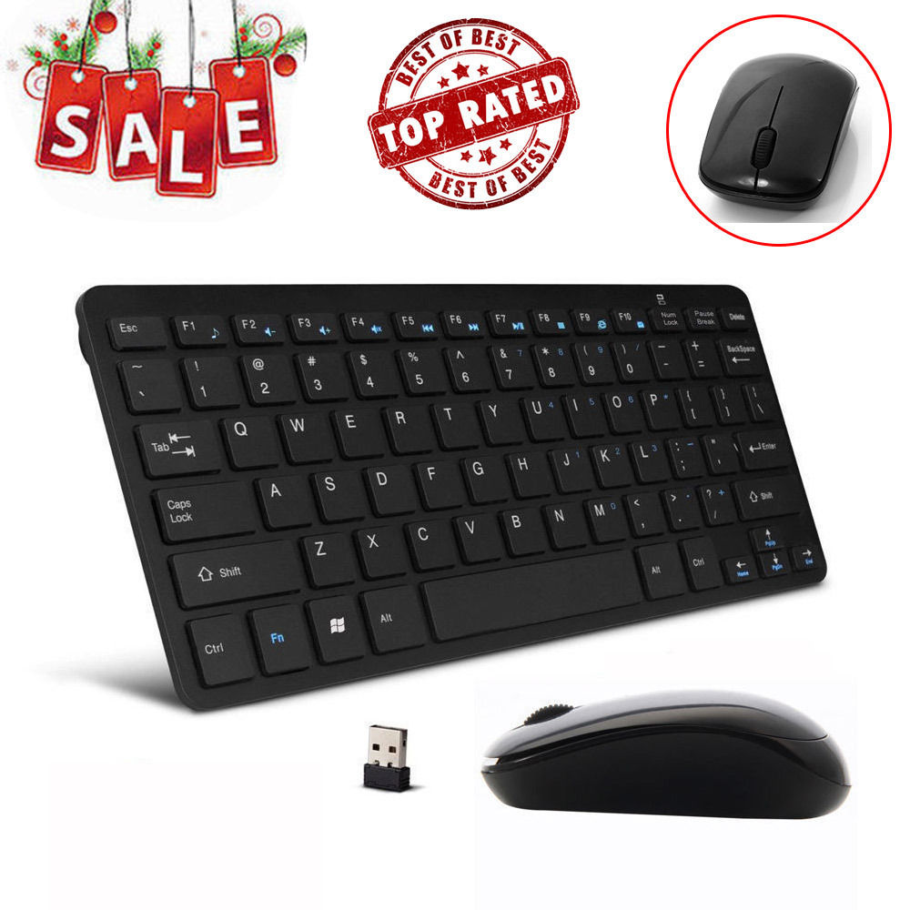 Mini 03 2.4G DPI Wireless Keyboard and Optical Mouse Combo for Desktop