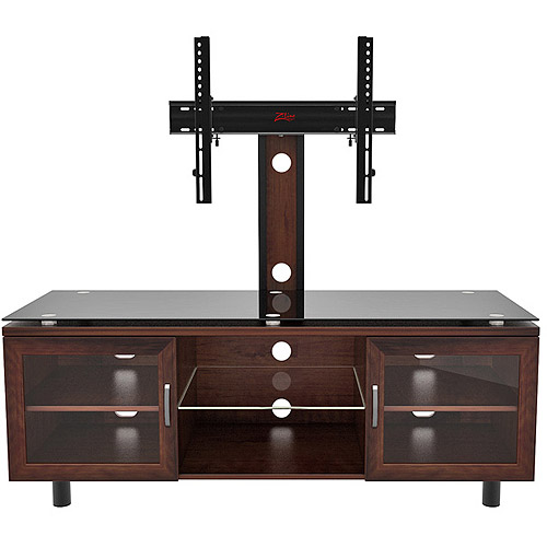 """Positano TV Stand with Integrated Mount for TVs up to 70"""", Espresso"""