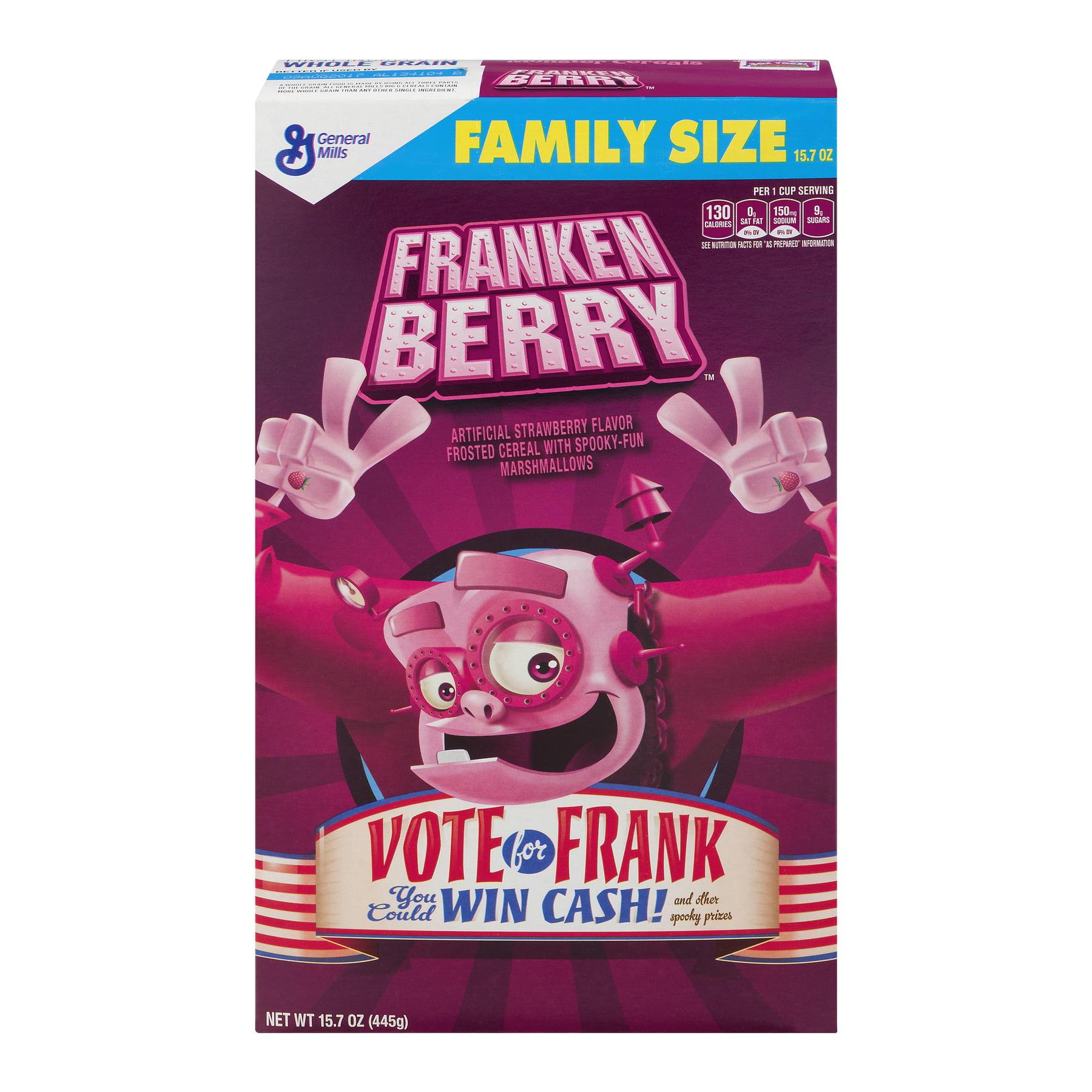Franken Berry Cereal, 15.7 Oz