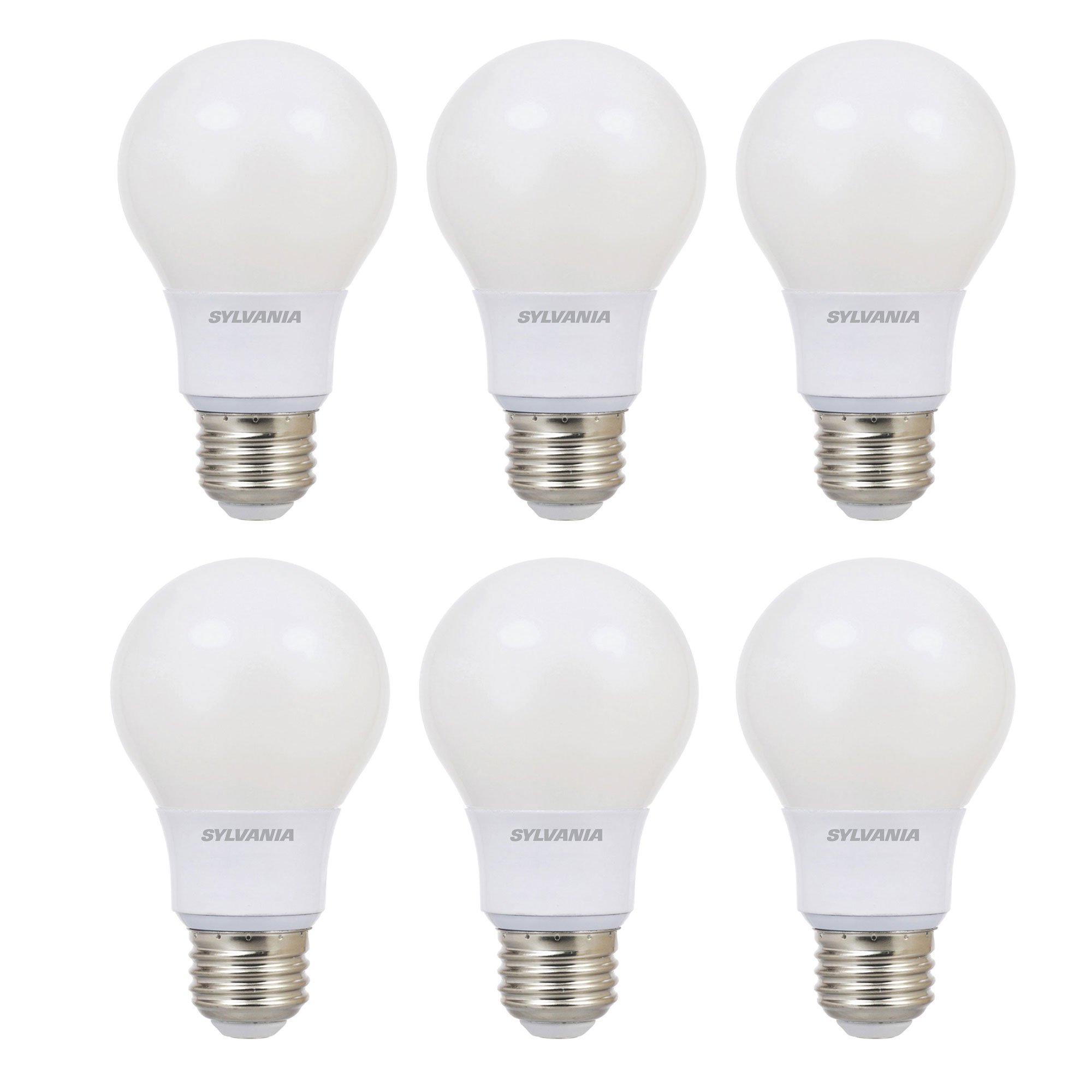 outlet store 229eb bf637 Sylvania Ultra A19 40W 120V E26 Base Dimmable Daylight LED Light Bulb (6  Pack)