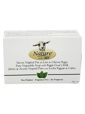 Canus Goat's Milk Bar Soap, Fragrance Free, 5 Oz