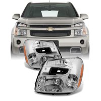 3be8448fe52 Product Image Fit 2005-2009 Chevy Equinox Headlights Lights Lamps  Replacement Left + Right
