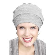 100% Cotton Cancer Turban: Three Seam Cancer Hat for Chemo Patients