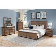 Steve Silver Sheffield Rich Cognac Queen 6-Piece Bedroom Set