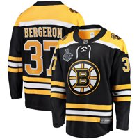 245f4e5f Product Image Patrice Bergeron Boston Bruins Fanatics Branded 2019 Stanley  Cup Final Bound Home Breakaway Player Jersey -