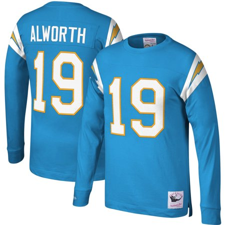 Lance Alworth San Diego Chargers Mitchell & Ness Retired Player Name & Number Long Sleeve Top - Powder