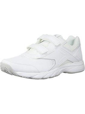 Reebok Mens Work N Cushion 3.0 KC Walking Shoe, Adult, White/Steel