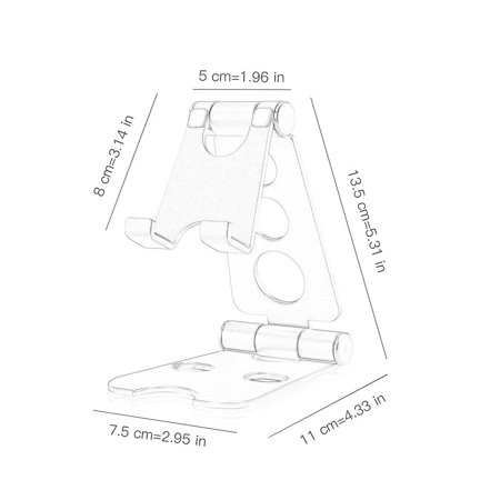 Multifunctional Small Size Universal Aluminum Alloy Tablets Smartphone Stand - image 3 de 6