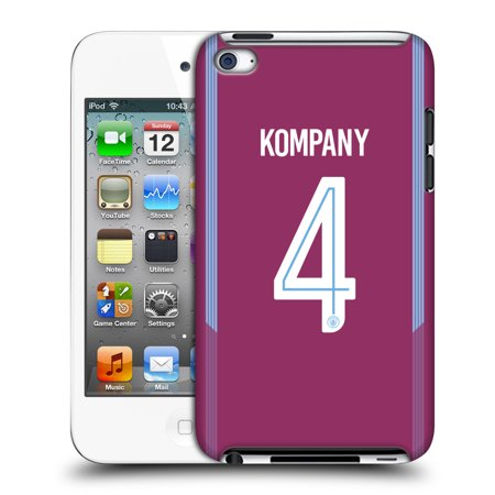 OFFICIAL MANCHESTER CITY MAN CITY FC 2017/18 PLAYERS AWAY KIT 2 HARD BACK CASE FOR APPLE IPOD TOUCH MP3