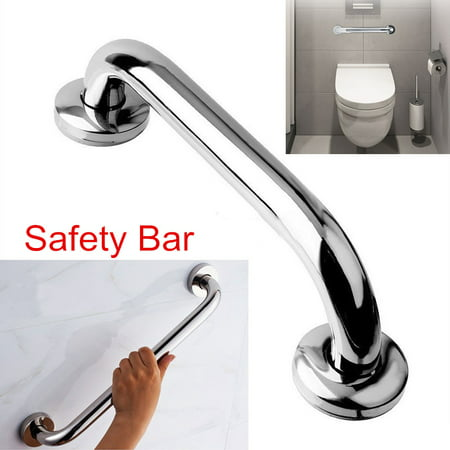 EECOO Stainless Steel Shower Tub Safety Grab Bar Towel Rack Wall Mounted Handrail Bathroom Accessory,Safety Grab Bar, Bathroom Handle ()
