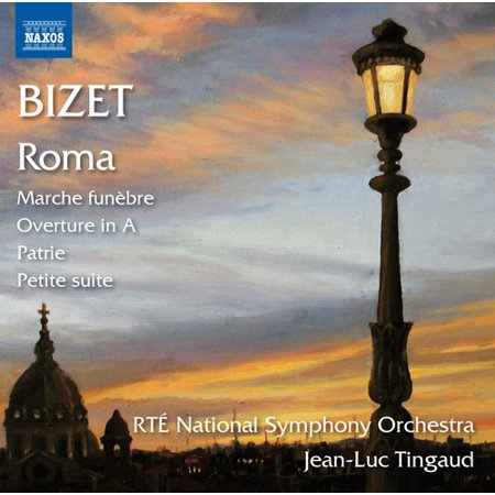 Bizet   Rte National Symphony Orchestra   Tingaud   Roma   Marche Funebre Overture   Overture In A  Cd