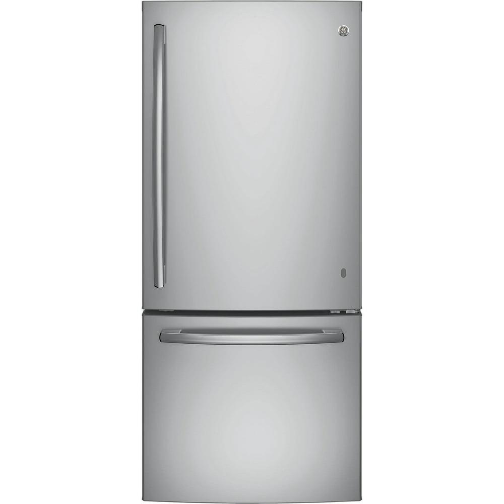GE-Stainless-Steel-Bottom-Freezer-Refrigerator