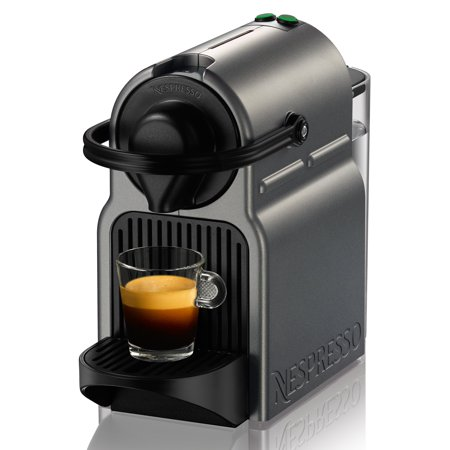 nespresso inissia titan standalone espresso machine. Black Bedroom Furniture Sets. Home Design Ideas