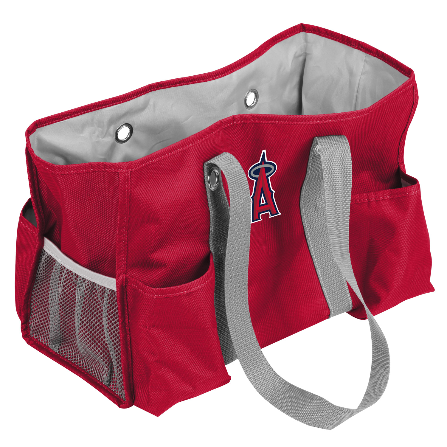 "Los Angeles Angels Official MLB 19""x12""x1"" Caddy Tote Bag by Logo 034490"