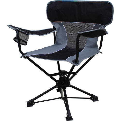 Ozark Trail Portable Swivel Chair Walmart Com