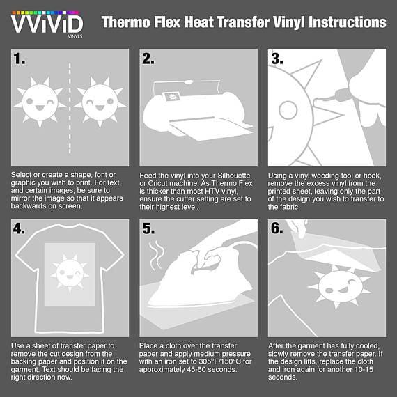 12 Inch x 3ft Roll VViViD HTV Sun Yellow Heavy-Duty Iron-on Heat Transfer Vinyl Film