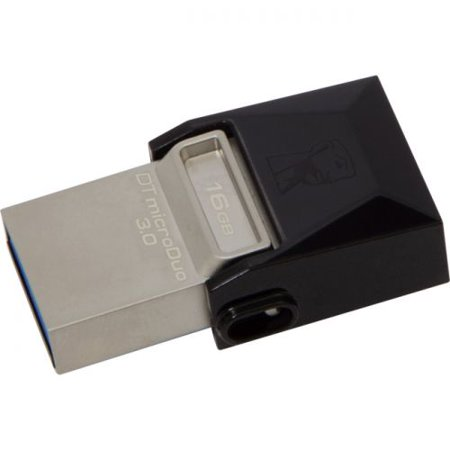 Kingston 16GB DataTraveler microDuo USB 3.0 On-The-Go Flash Drive - image 1 of 1