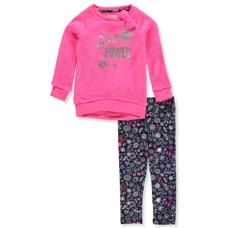 Colette Lilly Girls' 2-Piece Leggings Set Outfit