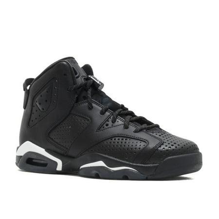 Nike - AIR JORDAN 6 RETRO BG (GS)  BLACK CAT  - 384665-020 - Walmart.com f4e56ec79