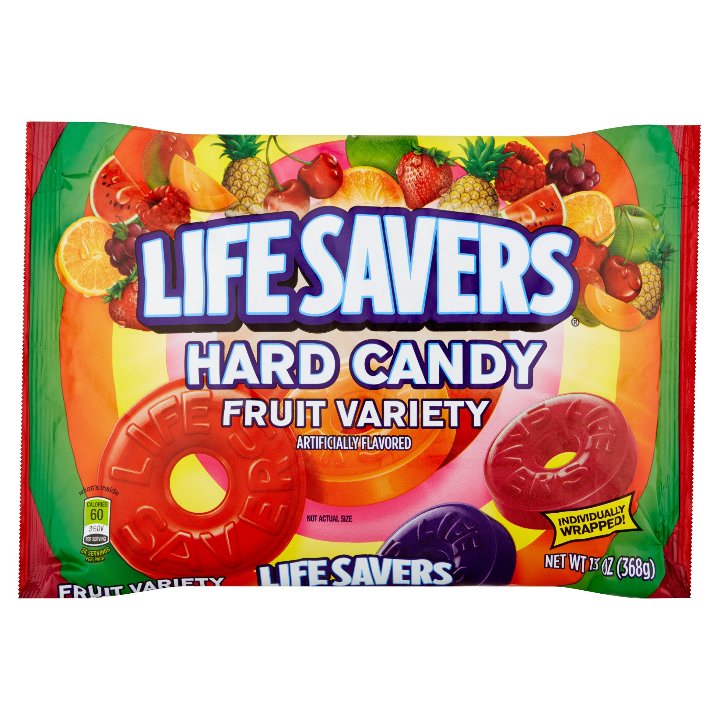 Life Savers Hard Candy Fruit Variety 13oz