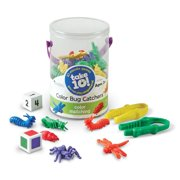 Learning Resources Take 10! Color Bug Catchers, Ages 3+