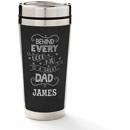 Personalized Behind Every Good Kid Travel Mug - Personalized Photo Travel Mugs