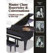 Master Class Repertoire & Conversations - Vol. 1
