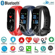 M3 Smart Bracelet Smart Watch Heart Rate Monitor Fitness Tracker with Watch Band