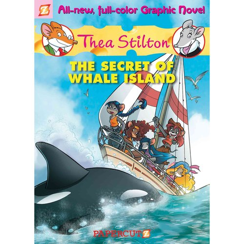 Thea Stilton 1: The Secret of Whale Island