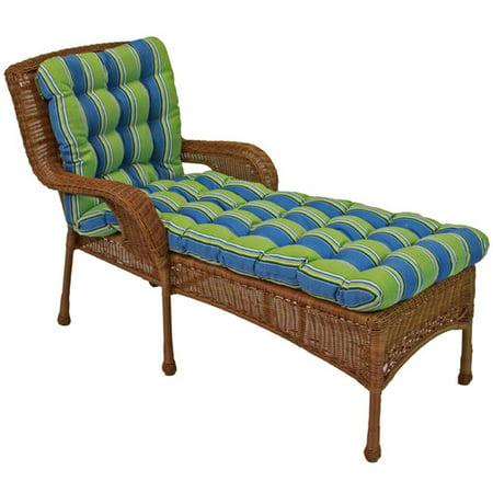 Blazing needles haliwall outdoor chaise lounge cushion for 23 w outdoor cushion for chaise