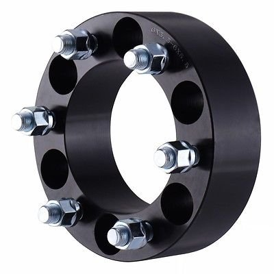 "4PC Wheel Spacer Adapters 2"" Chevy 6x5.5 Fits Silverado 1..."