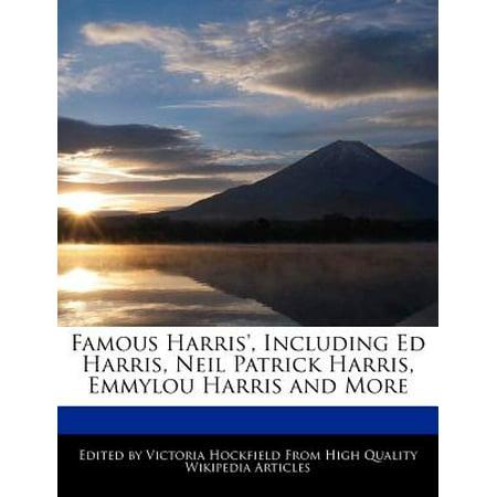 Famous Harris', Including Ed Harris, Neil Patrick Harris, Emmylou Harris and More (Patrick Neil Harris Gay)