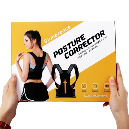 S/M/L/XL Posture Corrector Back Brace Scoliosis Humpback Correction Belt, Adjustable Comfort Invisibl e Belt, Back Humpback Kyphosis, for Man Woman Adult Students Children - image 8 de 9