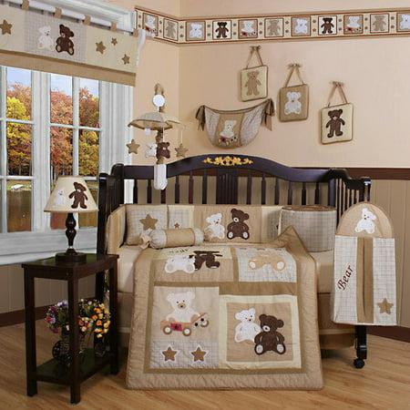 Geenny Crib Bedding Teddy Bear